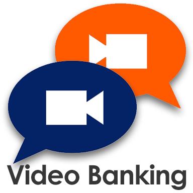 Video Banking Icon and link